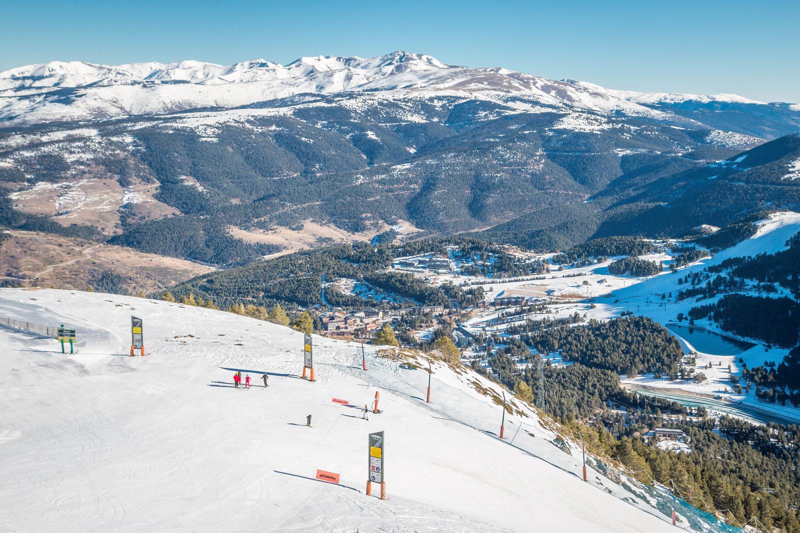 Ski Gebiete in der Nähe von Barcelona