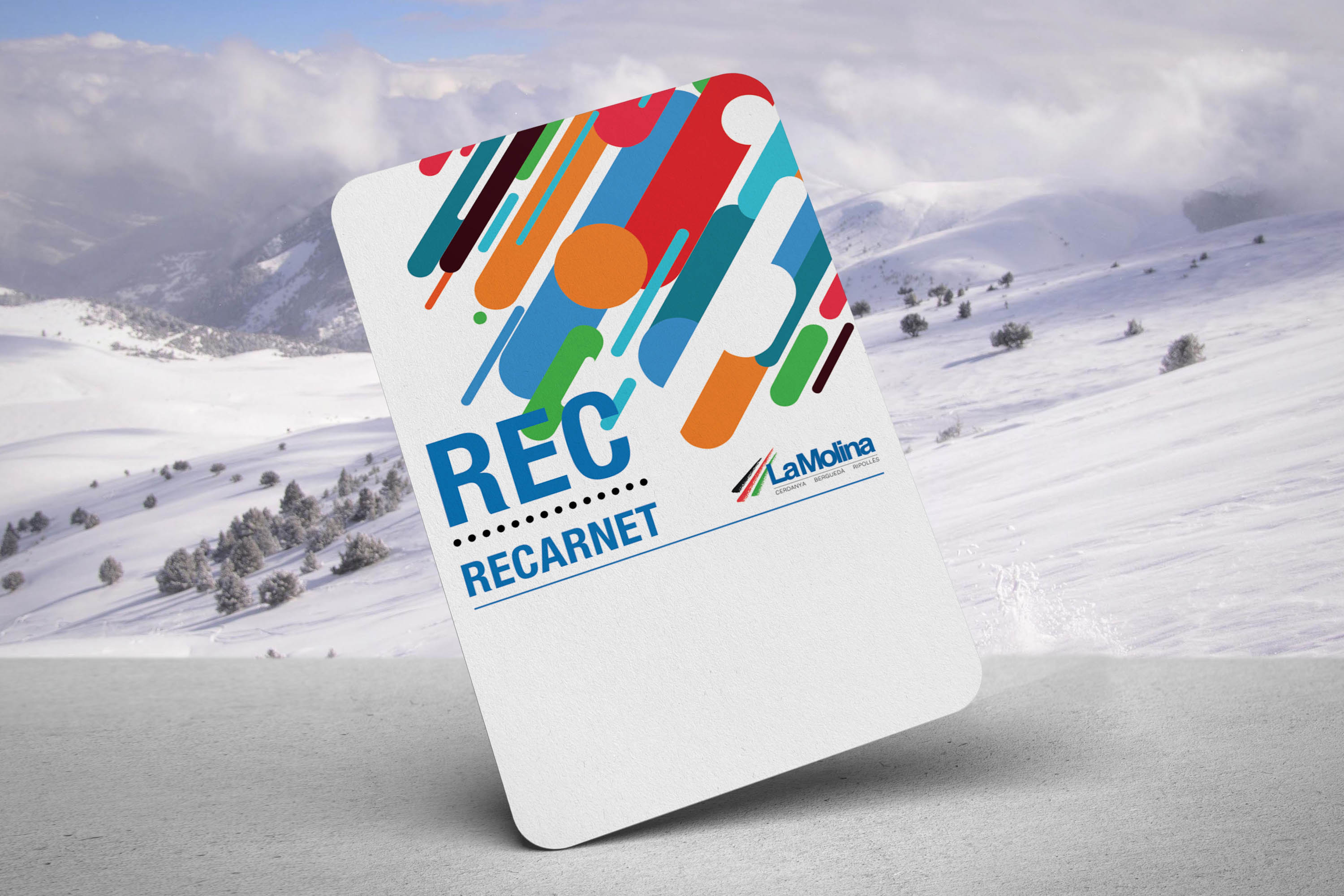 Reloadable Ski Pass