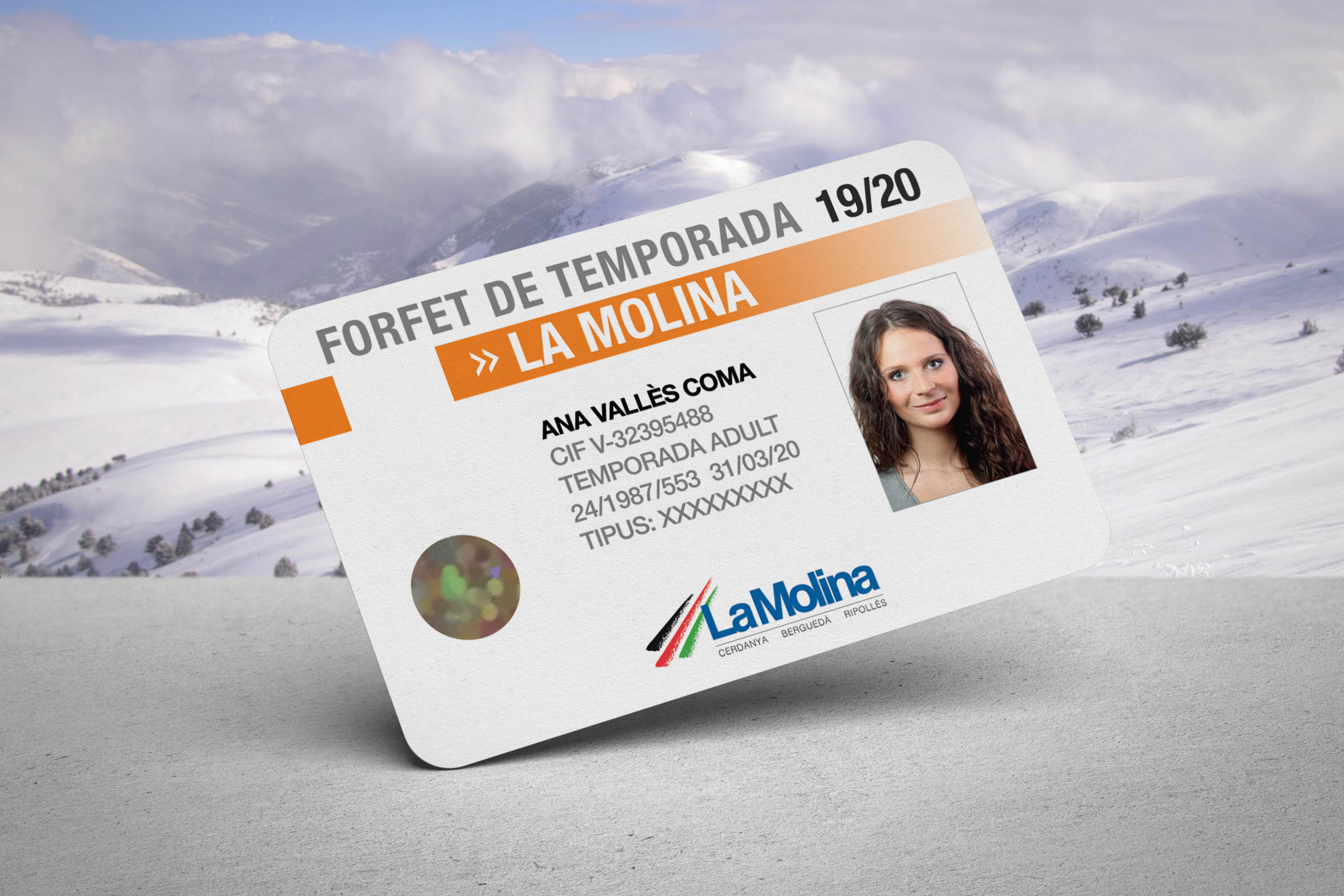 La Molina season ski pass