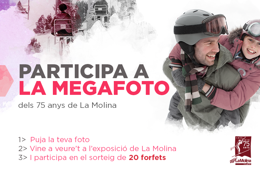 Be part of La Megafoto 75